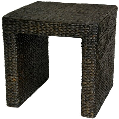 Horsetail End Table Finish: Black