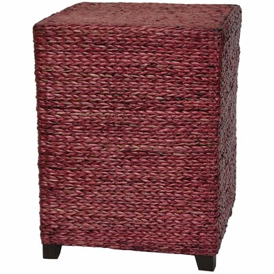 Kianna End Table Color: Mahogany