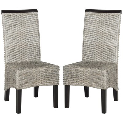 Ohelo Solid Wood DIning Chair Color: Antique Grey