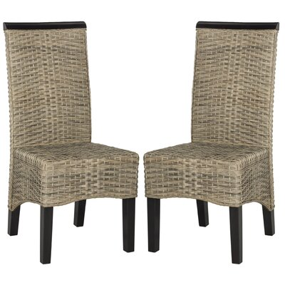 Ohelo Patio Dining Chair Color: Grey