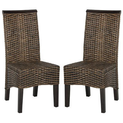 Ohelo Solid Wood DIning Chair Color: Multi Brown