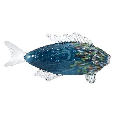 Vallarta Glass Fish Figurine BAYI1903 28028445