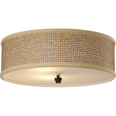 Greene 3-Light Flush Mount