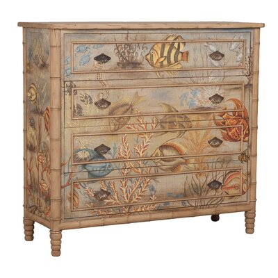 Stanley 4 Drawer Gentlemans Chest