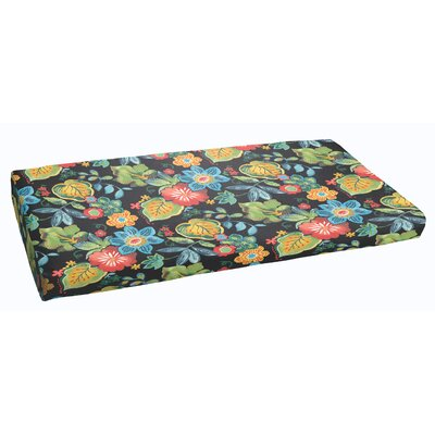 Barbuda Outdoor Bench Cushion Size: 60 x 19