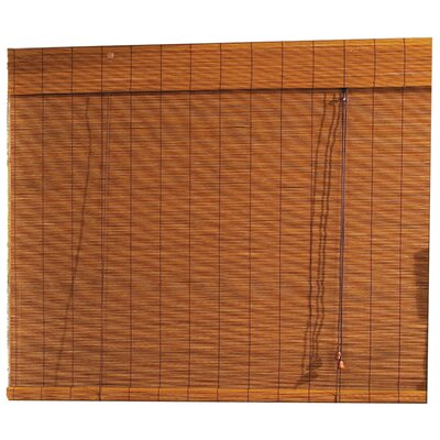 Bamboo Roller Blind (Set of 6) Size: 72 W x 48 L x 3 D
