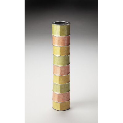 Pastel Aluminum Decorative Vase