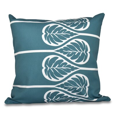 Hilde 2 Print Throw Pillow Size: 18 H x 18 W, Color: Teal