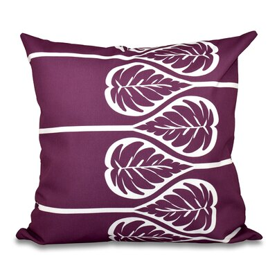 Harriet 2 Outdoor Throw Pillow Size: 20 H x 20 W, Color: Purple