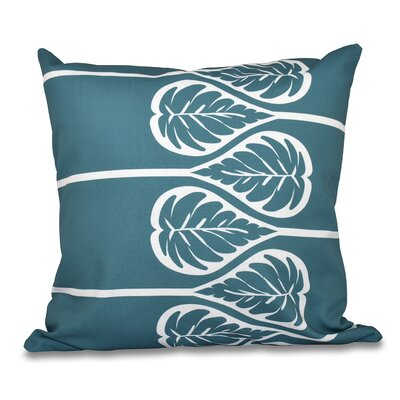 Hilde Outdoor Throw Pillow Size: 20 H x 20 W, Color: Teal