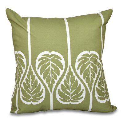 Harriet 2 Outdoor Throw Pillow Size: 18 H x 18 W, Color: Green