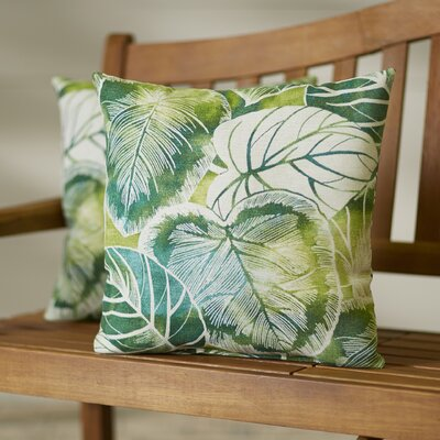Royal Outdoor Throw Pillow Color: Keycove Lagoon