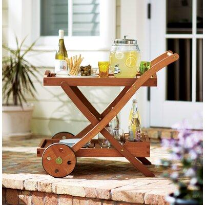 Oakport Serving Cart