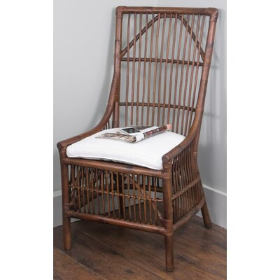 Nerissa Side Chair Upholstrey: Antique Brown