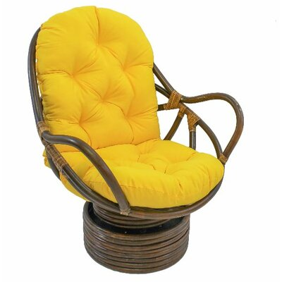 Jimena Papasan Chair Upholstery: Sunset