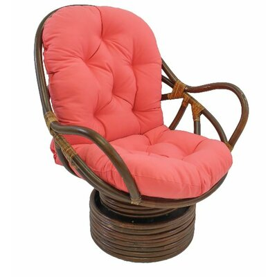Jimena Papasan Chair Upholstery: Hot Pink