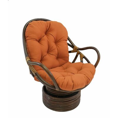 Jimena Papasan Chair Upholstery: Spice