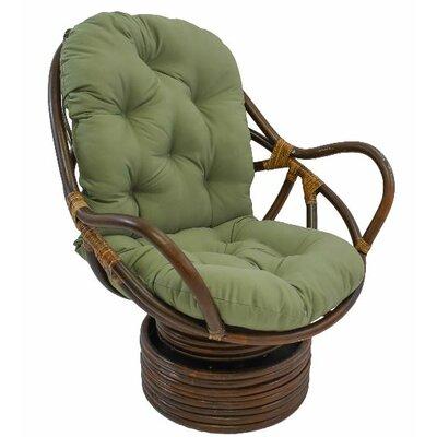 Jimena Papasan Chair Upholstery: Sage