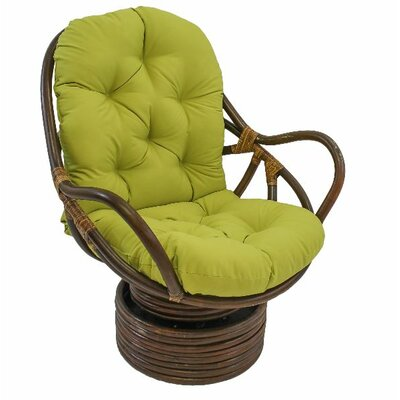 Jimena Papasan Chair Upholstery: Mojito Lime