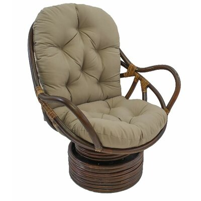 Jimena Papasan Chair Upholstery: Toffee