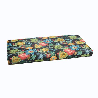 Barbuda Corded Outdoor Bench Cushion Size: 60 x 19