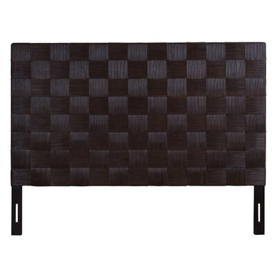 Guay Square Weave Panel Headboard Size: King