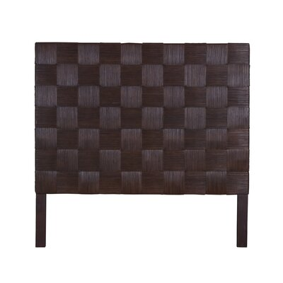 Guay Square Weave Panel Headboard Size: Queen