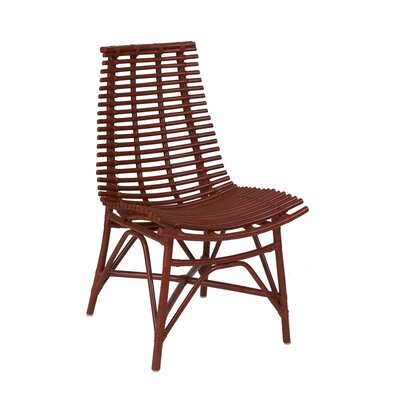 Roxana Side Chair Color: Red