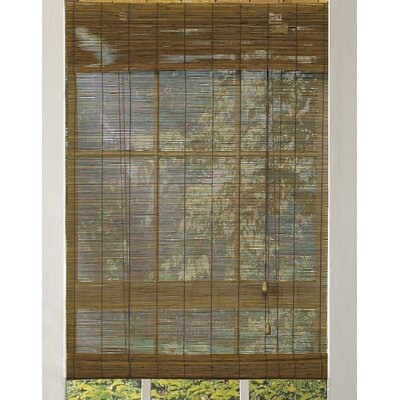Outdoor Bamboo Roll-Up Blind Size:  30 W x 72 L