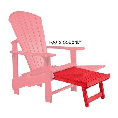 Trinidad Footstool Color: Red