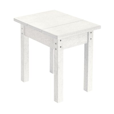 Alanna Rectangle Side Table Finish: White
