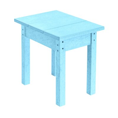 Alanna Rectangle Side Table Finish: Aqua