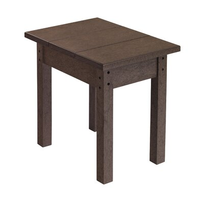 Alanna Rectangle Side Table Finish: Chocolate
