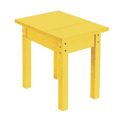Alanna Rectangle Side Table Finish: Yellow