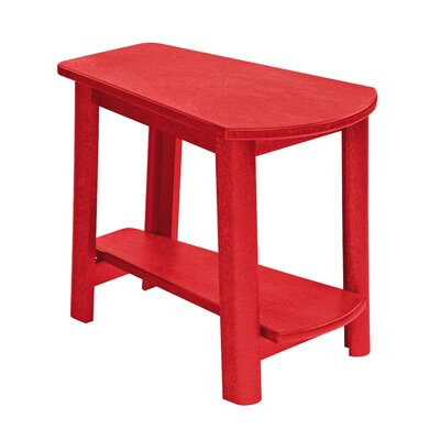 Trinidad Side Table Finish: Red