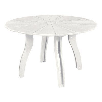 Trinidad Dining Table Finish: White