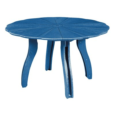 Trinidad Dining Table Finish: Blue