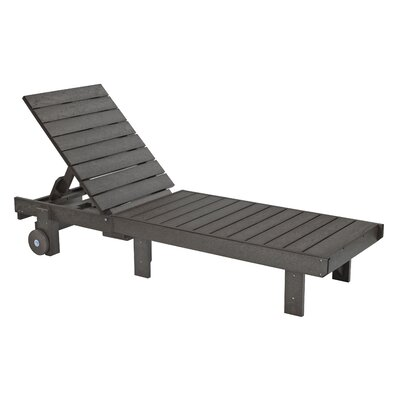 Trinidad Chaise Lounge Finish: Slate