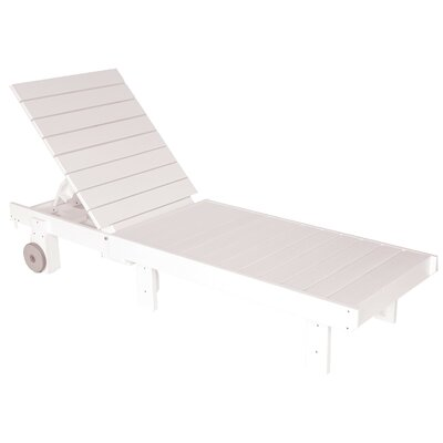 Trinidad Chaise Lounge Finish: White