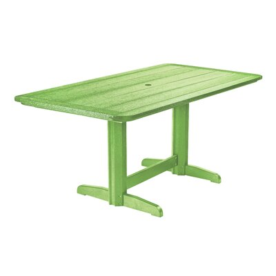Alanna Dining Table Finish: Kiwi Green