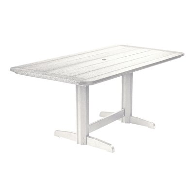 Alanna Dining Table Finish: White