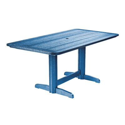 Alanna Dining Table Finish: Blue