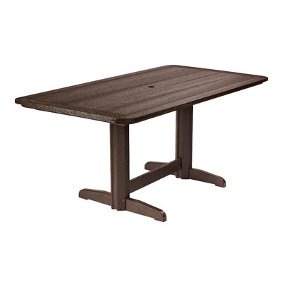 Alanna Dining Table Finish: Chocolate