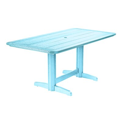 Alanna Dining Table Finish: Aqua
