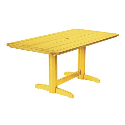 Alanna Dining Table Finish: Yellow