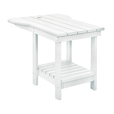 Trinidad Side Table Finish: White