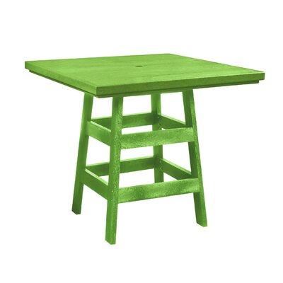 Alanna Square Bar Table Finish: Kiwi Green