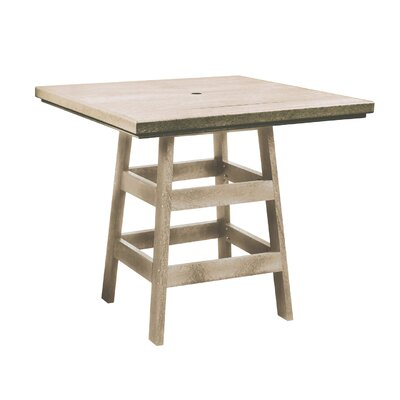 Alanna Square Bar Table Finish: Beige