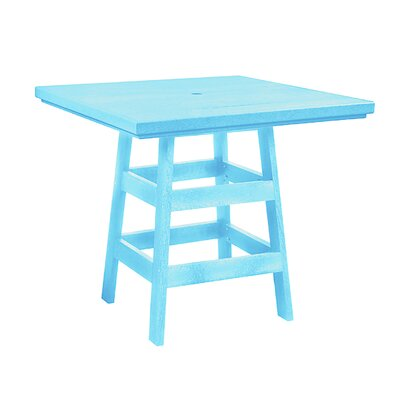 Trinidad Bar Table Finish: Aqua