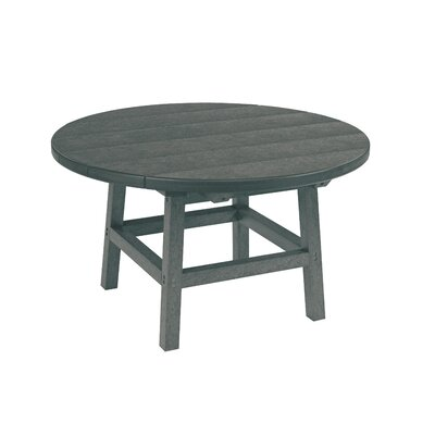 Trinidad Chat Table Table Size: 33 L x 33 W x 21 H, Finish: Beige